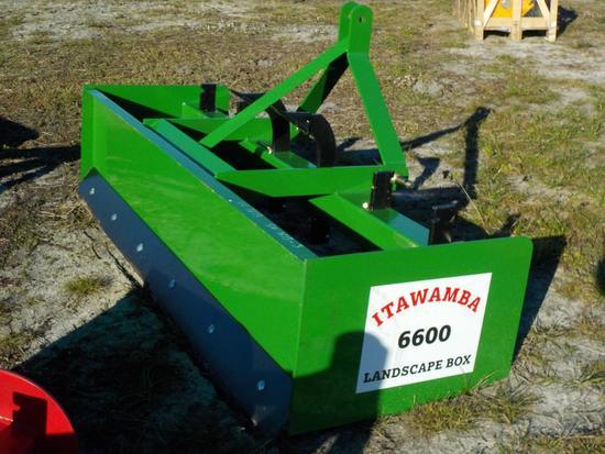 6' Itawamba 6600 Box Blade