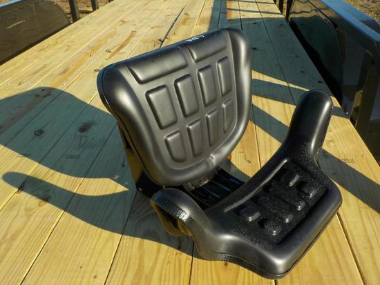 Deluxe Black Ford Style Tractor Seat
