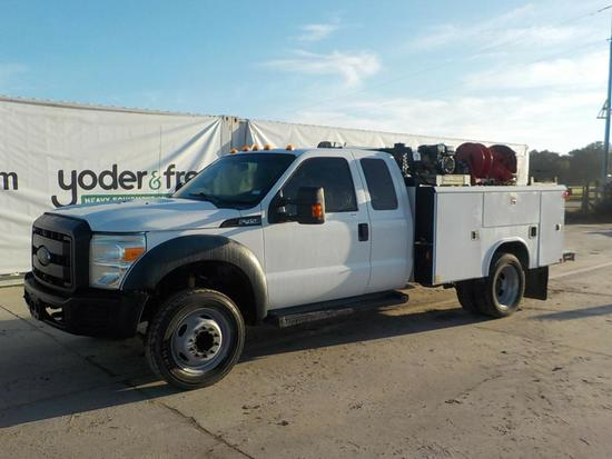 2012 Ford F450 Mechanics Truck c/w Crane
