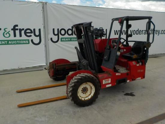 2015 CARGOTEC M9 60.3 Forklift, 6000lb capacity, Sideshift, 82 inch Height