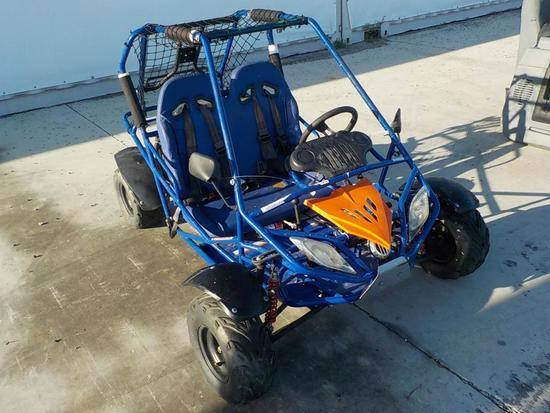 Go Cart, Child Size Blue