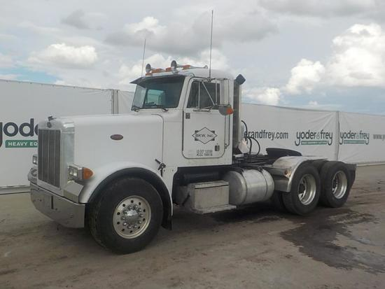 1989 Peterbilt 378 T/A Truck Tractor, CAT Engine, 14.6L, EF Transmission, 1