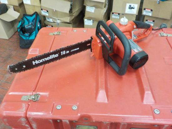 """Electric Homelite 16"""" Chainsaw"""