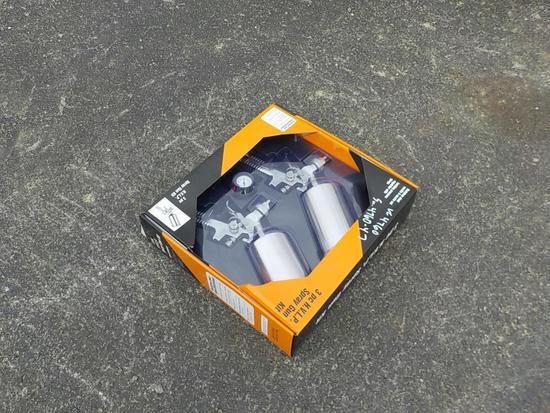 3 Piece Air Spray Gun Kit