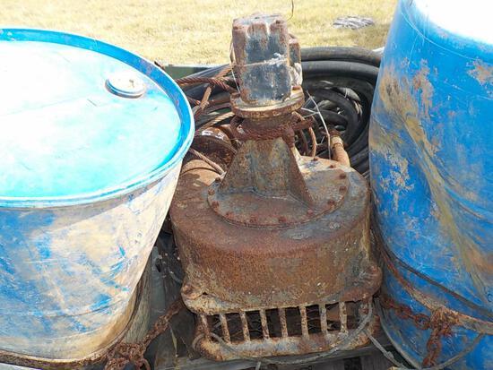 Single Axle Hydraulic Pump c/w 4 Cylinder Engine, Single Axle Waterpump