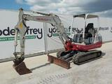 2013 Takeuchi TB235 Mini Excavator, OROPS, Rubber Tracks, Backfill Blade, A