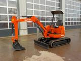 Furukawa 20 Mini Excavator, Rubber Tracks, Blade, Offset (3,423 Hours)