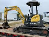 2005 Kobelco SK50SR-3 Mini Excavator, Blade, Offset, Piped, OROPS