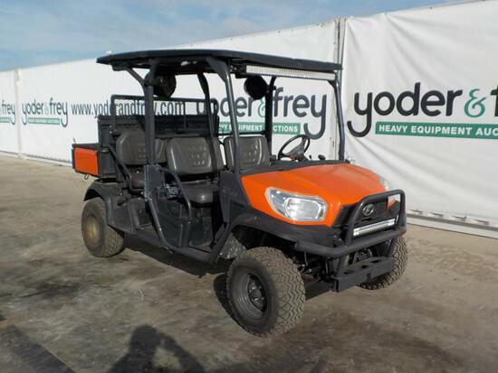 2016 Kubota RTV X1140 4WD Diesel Utility Vehicle c/w Hydraulic Tipping Body
