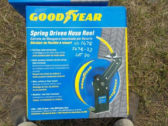 "3/8"" x 50' Goodyear Air Hose Reel"