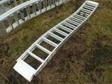 Aluminum Lawnmower/ATV Loading Ramps