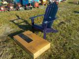 Purple Adirondack Chair