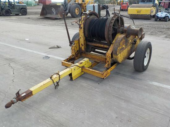 American Hoist and Derek Company Cable Puller c/w  3 Phase Electric Engine