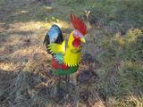 3' Metal Rooster