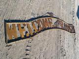 10' Ranch Welcome Sign