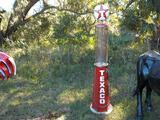 Metal Texaco Pump