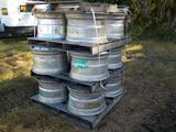 Wheels, Aluminum Float to suit Freightliner FS65, 22.5 X 13 (12 of)