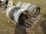 Pallet of Truck Wheels (7 of)