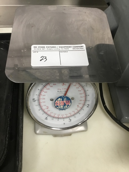 Mechanical produce scale