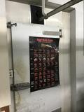 12' x 32' Meat walk-in w/ coils