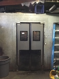 22' x 13 x 8' Produce Cooler walk-in w/ coil