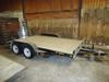 Doo Little Xtreme 7x14 trailer, beavertail, ramps, 2 axel, model XT8414