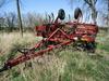 "Hiniker 7500 flat fold pull chisel plow, 21'9"""