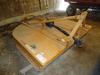 Woods Brushbull, 3pt, 8' mower like new, model BB840
