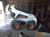 """Bobcat Turbo 773 Skidloader, 74"""" bucket, cab w/heat, front hyd., ONLY 1030"""