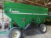 Parker 505 gravity wagon, lights, brakes, 425\65R22.5, green