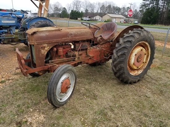 Antique Ford Tractor for Parts