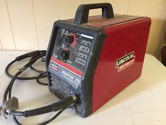 LINCOLN ELECTRIC Weld-Pak100 Arc Welder