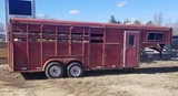1992 Stock Trailer with Tack room