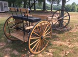 MeadowBrook 2 Wheel Cart / 3 Seats