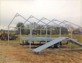 26' x 24' x 12' Center Steel Building Frame