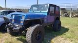 1993 Jeep Wrangler 4x4 Blue