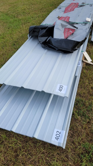 "Metal Roofing 18 @ 18'2"" - 18'9"" Galvalume"