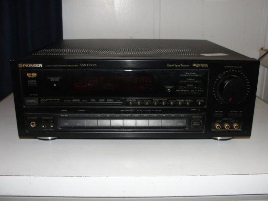 Pioneer audio visual stereo