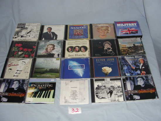 CD's Popular music
