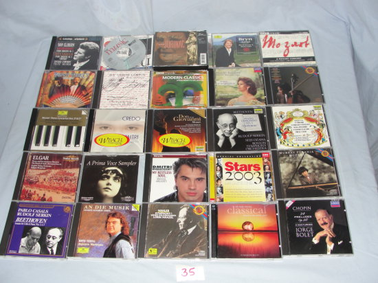 CD's Classical Music