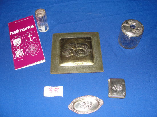 Sterling Silver bureau pieces