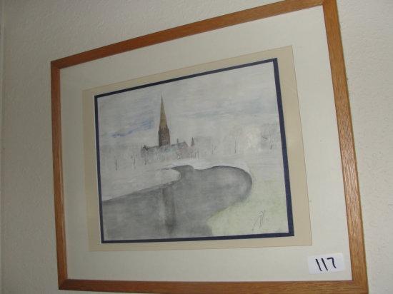 Francis Edwards Watercolor