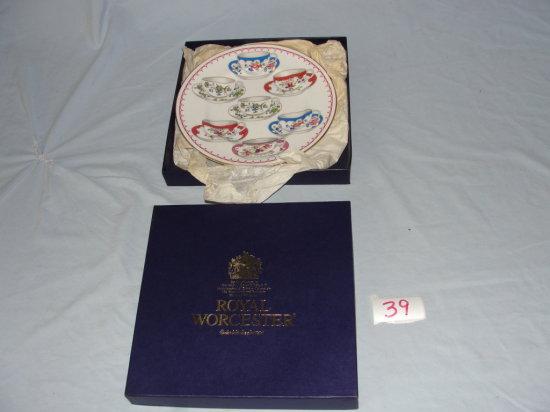 Royal Worcester display plate