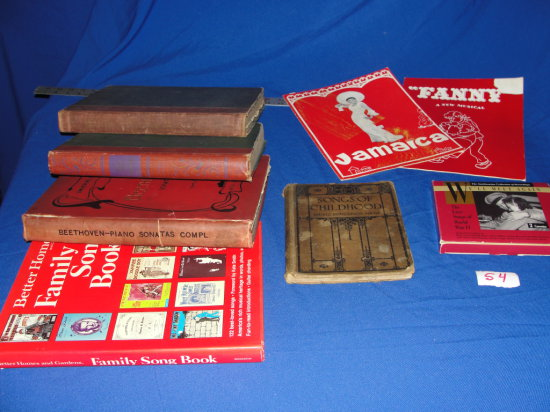 Hard Cover Music Books and collectable cassette