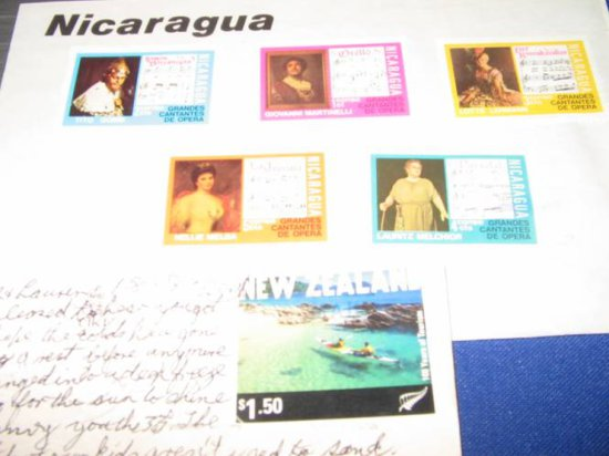 Foreign Unfranked Stamps