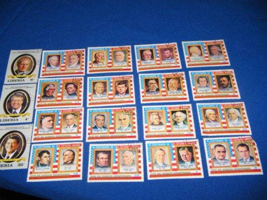 U.S. Stamps  Franked