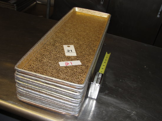"""Gold Full Size Bakery Display Tray - 18"""" x 26""""  - Times the Money"""