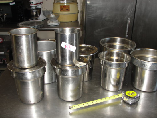 Round Steam Table Inserts