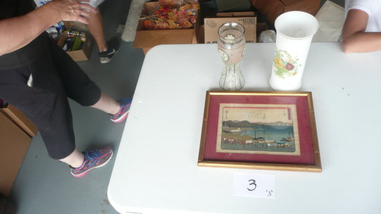 Hurricane Lamp, Harbor print