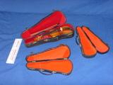 Mini Violin and 3 cases MV 011a